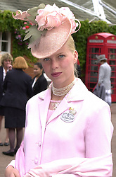 MISS SOPHIA BURRELL at Royal Ascot <br /> on 21st June 2000.OFP 43<br /> © Desmond O'Neill Features:- 020 8971 9600<br />    10 Victoria Mews, London.  SW18 3PY <br /> www.donfeatures.com   photos@donfeatures.com<br /> MINIMUM REPRODUCTION FEE AS AGREED.<br /> PHOTOGRAPH BY DOMINIC O'NEILL