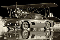 The Mercedes 300SL Gullwing is without a doubt one of the most popular sports cars of all time. This is the reason it makes for such a great collector's item. There are many things that make this a true classic. The ability to accelerate to high speeds without breaking a sweat, the long wheelbase, the roomy interiors and the excellent design are just a few of the reasons why this car remains one of the most desirable sports cars of all time.