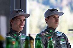 Anze Semenic and Jurij Tepes during ski jumping training in Nordic Center Planica before Four Hills Tournament, on December 21, 2016 in Nordic, Center Planica, Planica, Slovenia. Photo by Matic Klansek Velej / Sportida