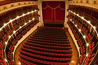 Interior of the Teatro Angela Peralta (opera house) in the Old Town, Mazatlan, Sinaloa, Mexico