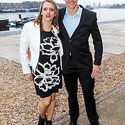NLD/Amsterdam/20150324 - Schaatsgala 2014, Stefan Groothuis en partner Esther