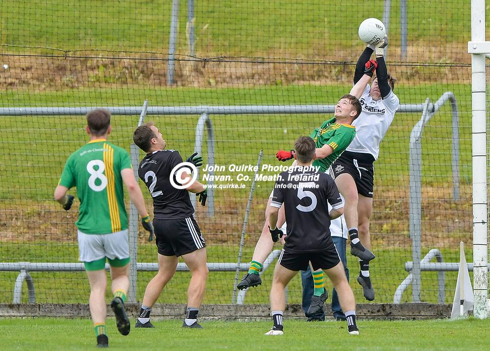 Walterstown goalkeeper, John Davis,    in the Castletown v Walterstown, 2020 Corn na Boinne Final match, at Pairc Tailteann, Navan.<br /> <br /> Photo: GERRY SHANAHAN-WWW.QUIRKE.IE<br /> <br /> 02-08-2021