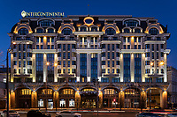 """Exterior photoshoot of Intercontinental hotel in Kyiv, Ukraine.<br /> <br /> Фотосъемка экстерьера отеля """"Интерконтиненталь"""" в Киеве.<br /> Клиент: MIK Design, системы освещения фасадов."""
