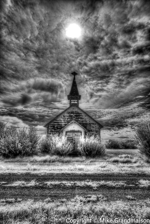 Old church, , Saskatchewan, Canada