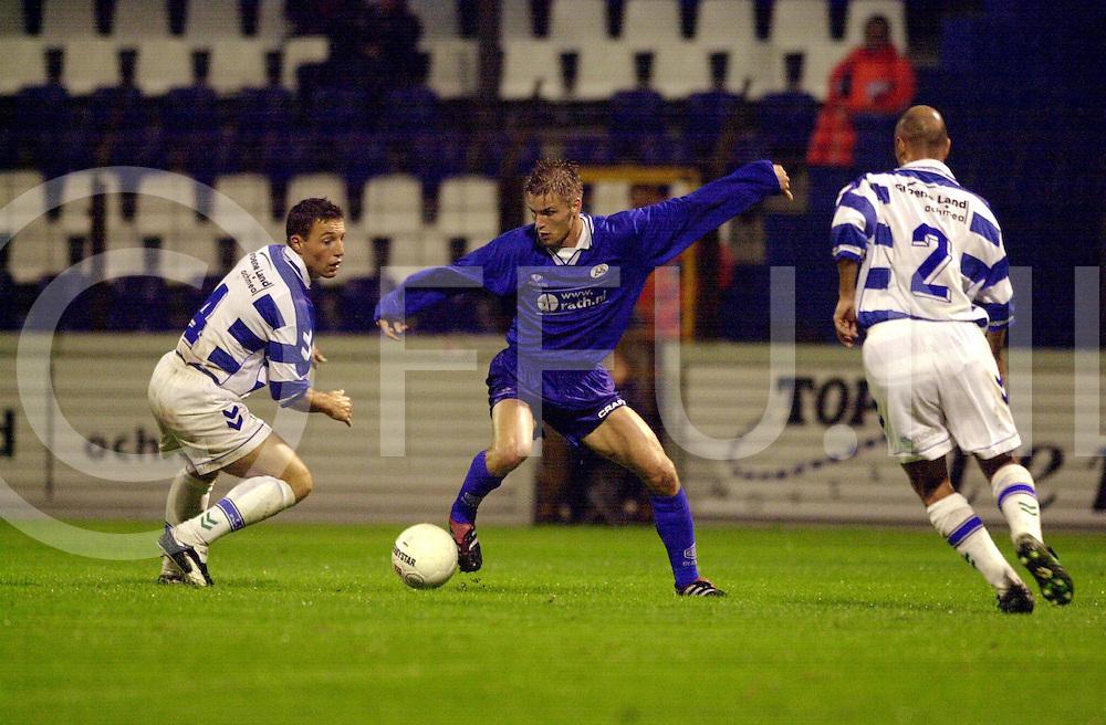 fotografie frank uijlenbroek©2001 michiel van de velde.010907 zwolle ned.voetbalwedstrijd fc zwolle tegen heracles almelo 1-0.