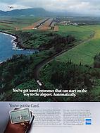 American Express, Kauai, Hawaii, airport, travel insurance, Aerial