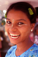 Market woman in Bago, Myanmar-Photograph by Owen Franken