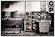 Street art by Snub, Finbarr, DanK, Shoreditch, East London http://www.vivecakohphotography.co.uk/2011/04/06/2982/