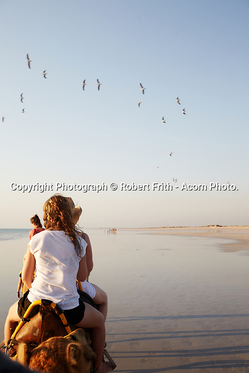 Camel ride on Cable Beach, Broome