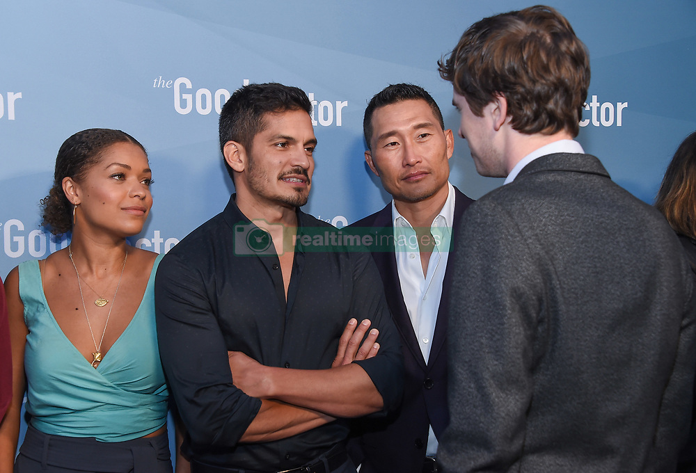 Freddie Highmore at The Good Doctor Emmy FYC Event held at Sony Pictures Studios on May 22, 2018 in Culver City, CA. © O'Connor/AFF-USA.com. 22 May 2018 Pictured: Antonia Thomas, Nicholas Gonzalez, Daniel Dae Kim and Freddie Hi. Photo credit: O'Connor/AFF-USA.com / MEGA TheMegaAgency.com +1 888 505 6342