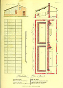 Schematics for a usable Pine Stove from Vol 1 of the book The universal herbal : or botanical, medical and agricultural dictionary : containing an account of all known plants in the world, arranged according to the Linnean system. Specifying the uses to which they are or may be applied By Thomas Green,  Published in 1816 by Nuttall, Fisher & Co. in Liverpool and Printed at the Caxton Press by H. Fisher