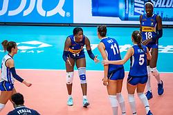 19-10-2018 JPN: Semi Final World Championship Volleyball Women day 18, Yokohama<br /> China - Italy / Miryam Fatime Sylla #17 of Italy