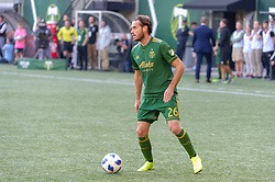 October 21, 2018 - Portland, OR, U.S. - PORTLAND, OR - OCTOBER 21, 2018:  Portland Timbers forward Lucas Melano during the Portland Timbers 3-0 victory over Real Salt lake on October 21, 2018, at Providence Park in Portland, Oregon. (Photo by Diego Diaz/Icon Sportswire) (Credit Image: © Diego Diaz/Icon SMI via ZUMA Press)
