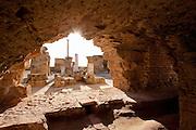 Roman ruins in Carthage, Tunisia