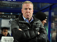 Football - 2018 / 2019 Emirates FA Cup - Fourth Round, Replay: Queens Park Rangers vs. Portsmouth<br /> <br /> Portsmouth Manager, Kenny Jackett, at Loftus Road.<br /> <br /> COLORSPORT/ANDREW COWIE