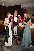 FREYA LYGO; JOSHUA FRETT; ANNA COMFORT, The 170th Royal Caledonian Ball 2018. In aid of various Scottish charities. Grosvenor House Hotel. 4 May 2018