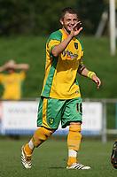 Photo: Maarten Straetemans.<br /> AGOVV Apeldoorn v Norwich City. Pre Season Friendly. 21/07/2007.<br /> Luke Chadwick