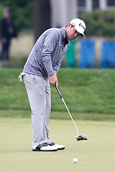 June 23, 2018 - Cromwell, Connecticut, United States - Brian Harman putts the 9th green during the third round of the Travelers Championship at TPC River Highlands. (Credit Image: © Debby Wong via ZUMA Wire)