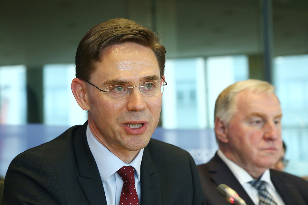 11 May 2017, 123rd Plenary Session of the European Committee of the Regions <br /> Belgium - Brussels - May 2017 <br /> <br /> Mr Jyrki Katainen, Vice-President of the European Commission<br /> <br /> © European Union / Patrick Mascart