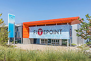 Fivepoint Arena Front Entrance at the Great Park Ice