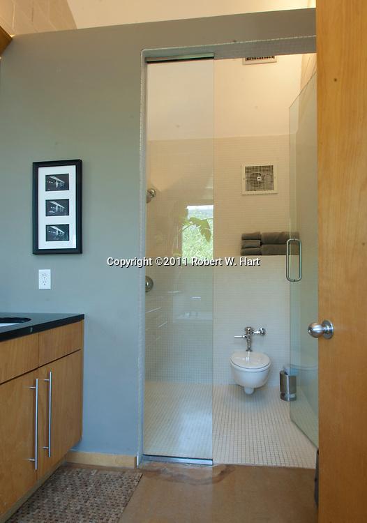 Master bath in Ken Maxwell's home on Monday June 13, 2011...Robert W. Hart/Special Contributor