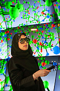 The Visualization Laboratory at KAUST is a state-of-the-art facility that offers students, faculty, researchers and university collaborators a unique opportunity to utilize one-of-a-kind visualization, interaction, and computational resources for the exploration and presentation of scientific data