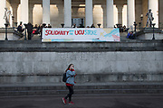 Protest by students at University College London in solidarity with university lecturers to protect their pensions on 22nd February 2018 in London, England, United Kingdom.