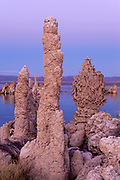 Tufa Formations after Sunset, Mono Basin National Forest Scenic Area, California
