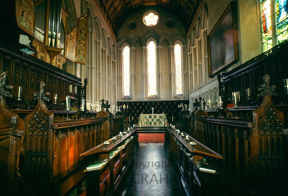 Chapel at Jesus College, Cambridge University, England, UK