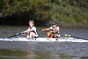 Crew: 92 - Carboo / Warren - Putney Town Rowing Club - W 2- Club <br /> <br /> Pairs Head 2020