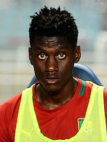 Football Fifa Brazil 2014 World Cup Matchs-Qualifier / Africa - Play-Off / <br /> Tunisia vs Cameroon 0-0  ( Olympic Stadium of Rades , Tunis-Rades , Tunisia ) <br /> Macky BAGNACK of Cameroon , during the match between Tunisia and Cameroon