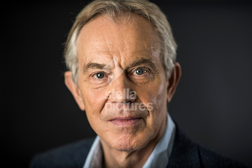 Former British Prime Minister Tony Blair pictured at the central London offices of Institute for Global Change, London.<br /> Picture by Daniel Hambury/@stellapicsltd 07813022858<br /> 18/01/2018