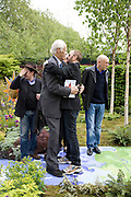 SIR GEORGE MARTIN AND RINGO STARR, Opening day of the Chelsea Flower Show. Royal Hospital Grounds. London. 19 May 2008 *** Local Caption *** -DO NOT ARCHIVE-© Copyright Photograph by Dafydd Jones. 248 Clapham Rd. London SW9 0PZ. Tel 0207 820 0771. www.dafjones.com.