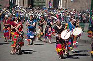 Inti Raymi. Act two. Plaza Mayor