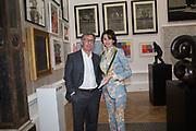 PETR AVEN; KATARINA AVEN, Royal Academy Summer Exhibition party. Burlington House. Piccadilly. London. 6 June 2018