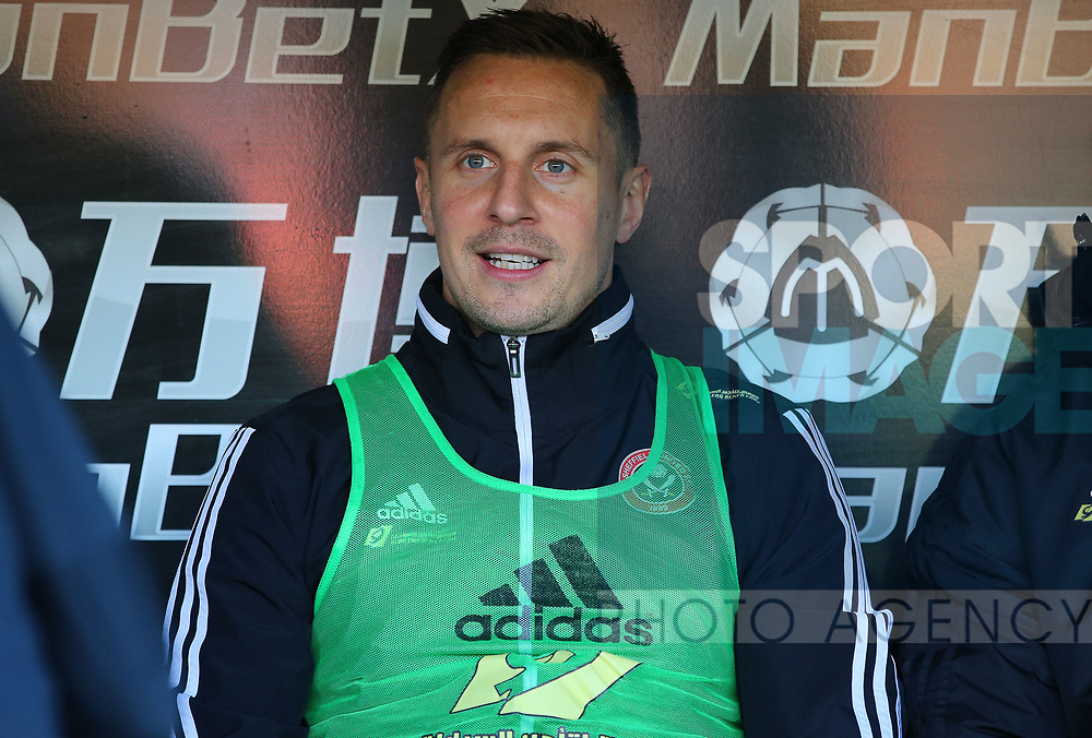 Sheffield United's Phil Jagielka during the Premier League match at Selhurst Park, London. Picture date: 1st February 2020. Picture credit should read: Paul Terry/Sportimage