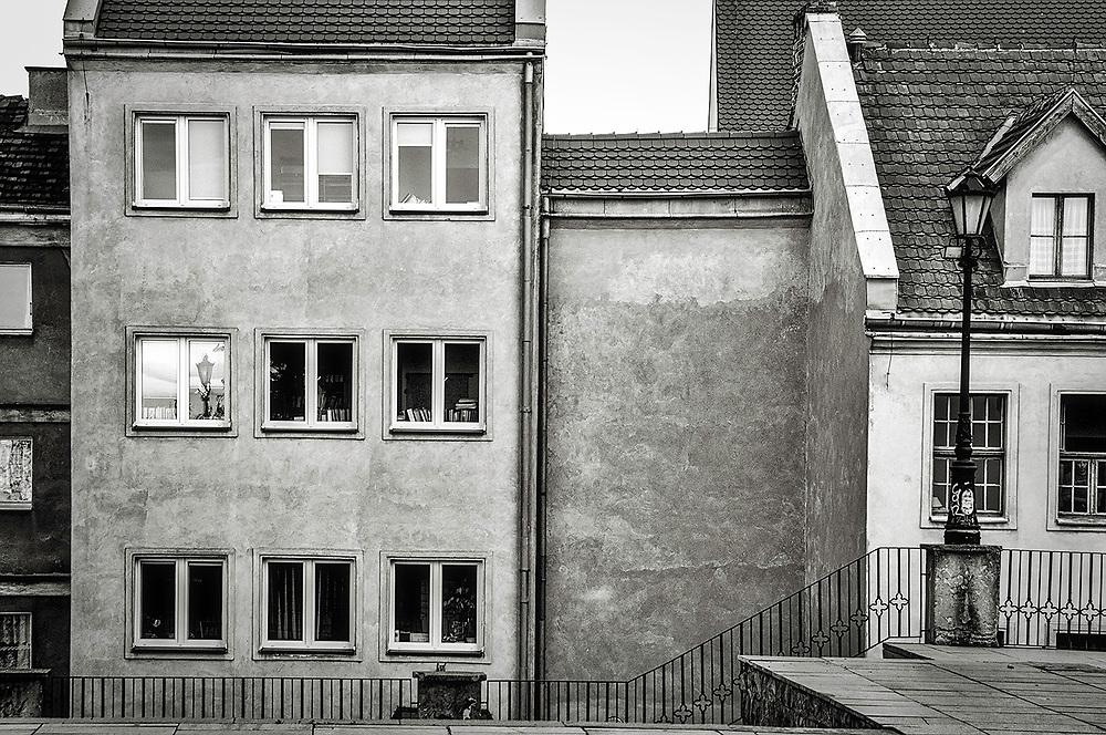 A side-street in Berlin, Germany.