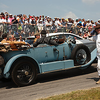Rolls Royce Silver Ghost seen at the Goodwood Festival of Speed 2013