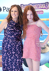 July 1, 2018 - Los Angeles, California, USA - 6/30/18.Molly Shannon and her daughter Stella Chesnut at the premiere of ''Hotel Transylvania 3: Summer Vacation'' held at the Westwood Village Theatre in Los Angeles, CA. (Credit Image: © Starmax/Newscom via ZUMA Press)