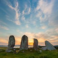Eightercua, Standing Stone Alignment, Waterville Co. Kerry, Ireland