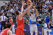 DESCRIZIONE : Beko Legabasket Serie A 2015- 2016 Playoff Quarti di Finale Gara3 Dinamo Banco di Sardegna Sassari - Grissin Bon Reggio Emilia<br /> GIOCATORE : David Logan<br /> CATEGORIA : Tiro Tre Punti Three Point<br /> SQUADRA : Dinamo Banco di Sardegna Sassari<br /> EVENTO : Beko Legabasket Serie A 2015-2016 Playoff<br /> GARA : Quarti di Finale Gara3 Dinamo Banco di Sardegna Sassari - Grissin Bon Reggio Emilia<br /> DATA : 11/05/2016<br /> SPORT : Pallacanestro <br /> AUTORE : Agenzia Ciamillo-Castoria/L.Canu
