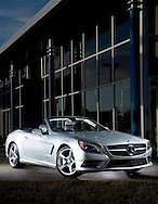 Mercedes SL at Crown Mercedes in Dublin for the Wow Factor column in Capital Style.(Will Shilling/Capital Style)