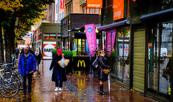Street scene in the rain in Toulouse, France<br /> <br /> (c) Andrew Wilson | Edinburgh Elite media