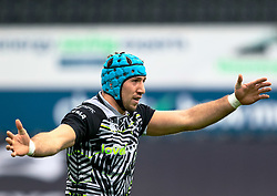 Justin Tipuric of Ospreys<br /> <br /> Photographer Simon King/Replay Images<br /> <br /> European Rugby Challenge Cup Round 5 - Ospreys v Worcester Warriors - Saturday 12th January 2019 - Liberty Stadium - Swansea<br /> <br /> World Copyright © Replay Images . All rights reserved. info@replayimages.co.uk - http://replayimages.co.uk