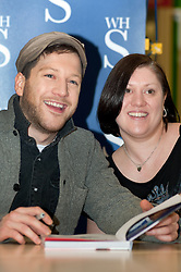 """X Faxtor 2010 Winner Matt Cardle signs copies of his book """"MY Life"""" at WH Smith branch in Meadowhall Shopping Centre Sheffield Lunchtime on Wednesday 2 March 2011.Images © Paul David Drabble"""