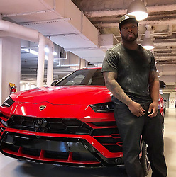 """50 Cent releases a photo on Instagram with the following caption: """"Yayo got this so I fell back on the Lambo truck. I was gonna get one, he said damn why you gotta fuck everything up.\ud83d\udc40smh \ud83d\ude06#lecheminduroi #bellator"""". Photo Credit: Instagram *** No USA Distribution *** For Editorial Use Only *** Not to be Published in Books or Photo Books ***  Please note: Fees charged by the agency are for the agency's services only, and do not, nor are they intended to, convey to the user any ownership of Copyright or License in the material. The agency does not claim any ownership including but not limited to Copyright or License in the attached material. By publishing this material you expressly agree to indemnify and to hold the agency and its directors, shareholders and employees harmless from any loss, claims, damages, demands, expenses (including legal fees), or any causes of action or allegation against the agency arising out of or connected in any way with publication of the material."""
