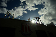 a General view of outside the Bet 365 Stadium. Premier league match, Stoke City v Arsenal at the Bet365 Stadium in Stoke on Trent, Staffs on Saturday 19th August 2017.<br /> pic by Bradley Collyer, Andrew Orchard sports photography.