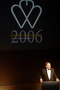 Prince Willem Alexander and maxima are in The Hague at the Royal Thaetre for the king Willem 1 price.<br /> <br /> Prins Willem Alexander en Maxima zijn in Den Haag in de Koninklijke Schouburg aanwezig bij de uitreiking van de Koning Willem 1 Prijs, de nationale ondernemingsprijs.<br /> <br /> On the photo / Op de foto:<br />  A.H.E.M. Wellink