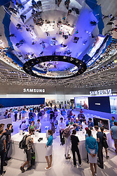 Busy Samsung stand at 2016  IFA (Internationale Funkausstellung Berlin), Berlin, Germany