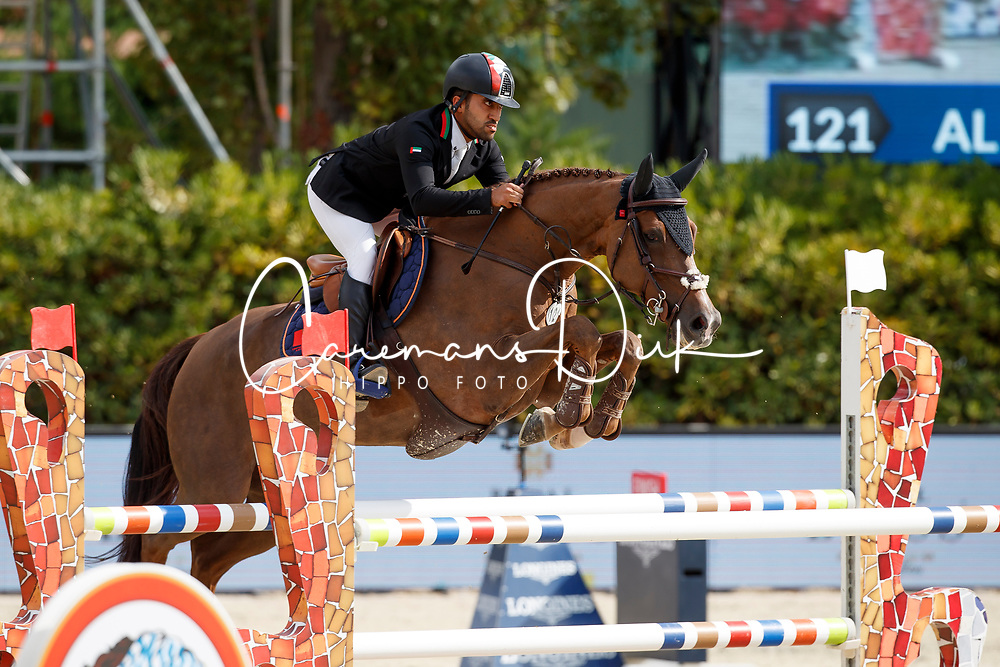 Al Marri Abdullah Mohd, UAE, AMS Catch Me<br /> CSIO Barcelona 2017<br /> © Dirk Caremans<br /> 28/09/2017